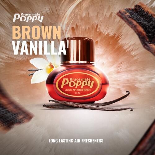 Poppy Grace Mate Brown Vanilla