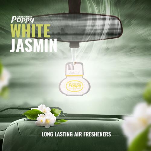 Poppy Hanger White Jasmin